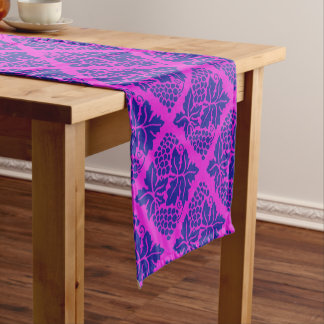 Your color with Blue grapes Short Table Runner
