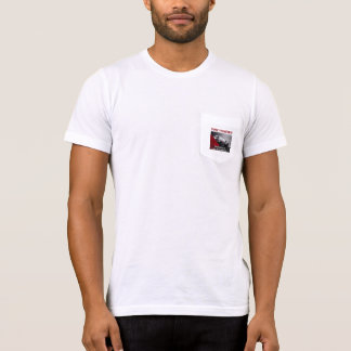 Your Company Black Car White Pocket t-shirt