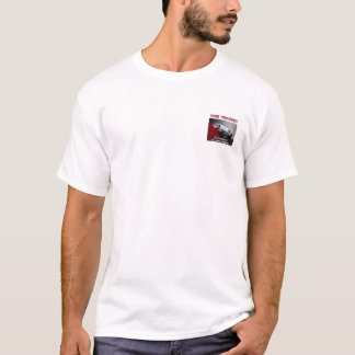 Your Company Black Car White t-shirt