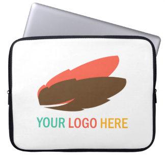 Your company logo custom marketing promotional computer sleeve