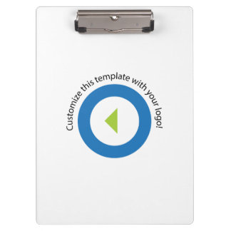Your Company Logo Easy Template Clipboards