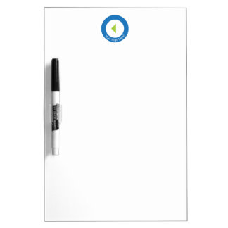 Your Company Logo Easy Template Dry Erase Board