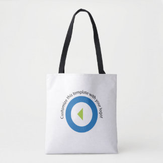 Your Company Logo Easy Template Tote Bag