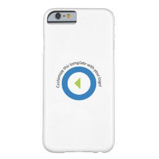 Your Company Logo Easy Template Vertical Barely There iPhone 6 Case