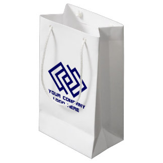 Your Company Logo Gift Bag Small