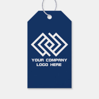 Your Company Logo Gift Tags - Choose Color