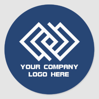 Your Company Logo Stickers - Choose Your Color R