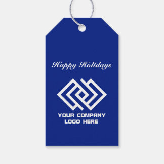 Your Company Party Logo Holiday Gift Tags B
