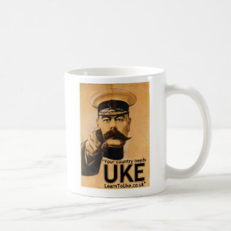Your Country Needs UKE! Coffee Mug