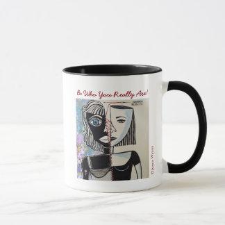Your Custom 11 oz Combo Mug-Who Are You? Mug