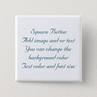 Your Custom 2 Inch Square Button by Bonhovey