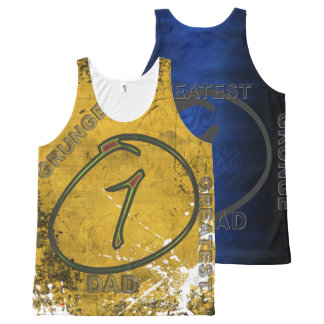 Your Custom All-Over Printed Unisex Tank, ggrndad2