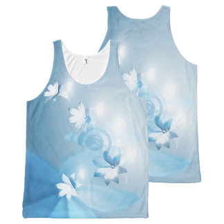 Your Custom All-Over Printed Unisex Tank, XL lbflw