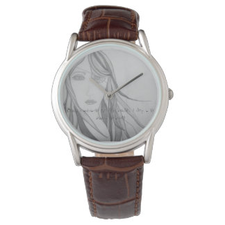 Your Custom Classic Brown Leather watch