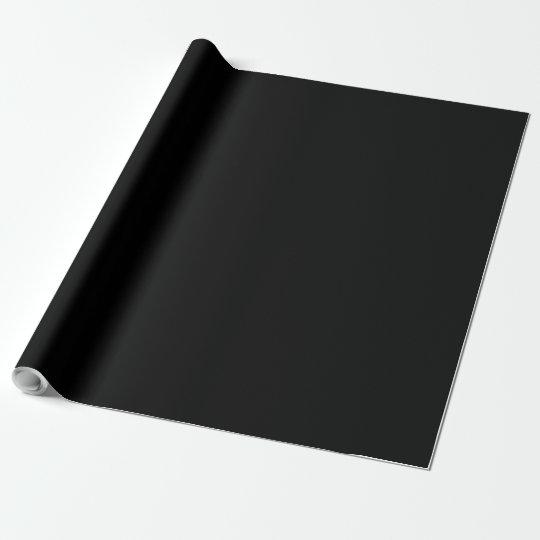 Your Custom Dark Black Design