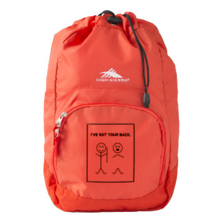 Your Custom High Sierra Backpack, Red by Luner