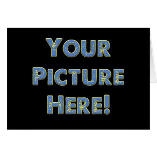 Your Custom Image on Card