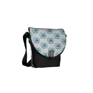 Your Custom Logo   Image All Over Patterned Messenger Bag