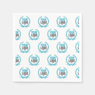 Your Custom Logo | Image All Over Patterned Paper Napkins