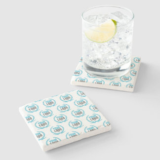 Your Custom Logo | Image All Over Patterned Stone Coaster
