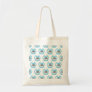 Your Custom Logo   Image All Over Patterned Tote Bag