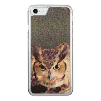 Your Custom Slim Maple Apple iPhone 7 Case - Owl