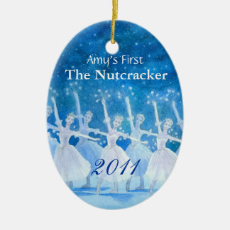 Your Dancer's First Nutcracker Ornament
