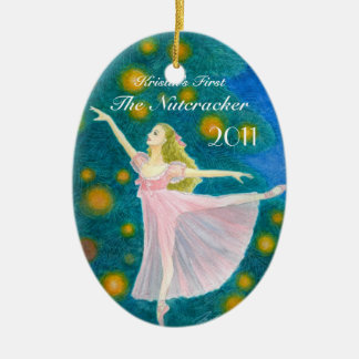 Your Dancer's First Nutcracker Oval Ornament