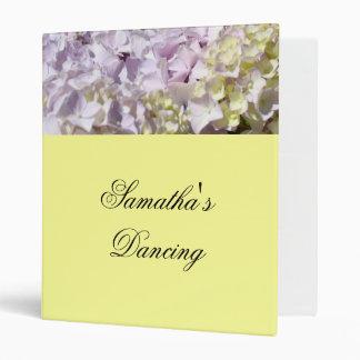 Your Daughters Name Dancing binder Photo Programs
