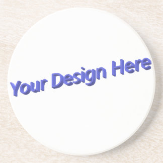 Your Design Here Coaster