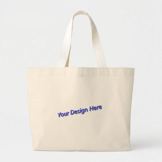 Your Design Here Large Tote Bag