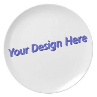 Your Design Here Plate