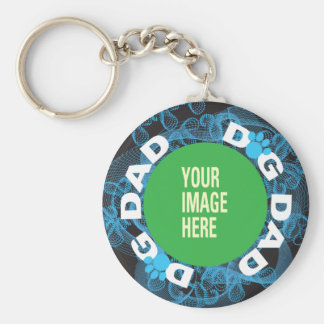YOUR Dog Dad Keychain