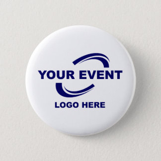 Your Event Logo Button White or Pick Color