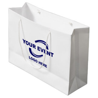Your Event Logo Gift Bag Large