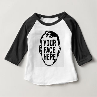 your-face-here baby T-Shirt