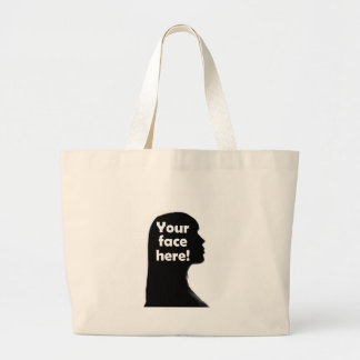 your-face-here-copy large tote bag