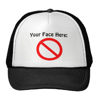 Your Face Here hat