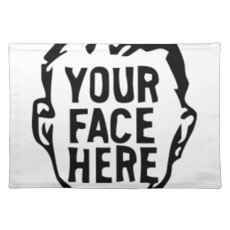 your-face-here placemat