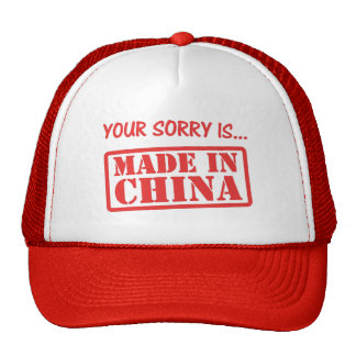 Your Fake Sorry Trucker Hat