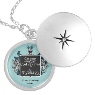 Your family crest on a necklace
