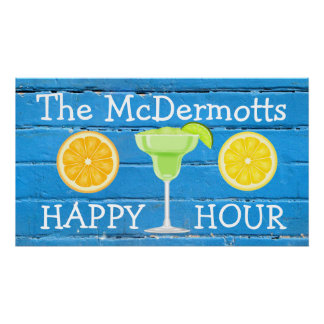 Your Family Name - Your Happy Hour! Poster