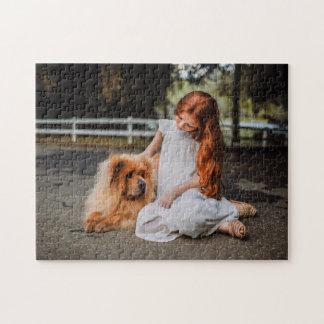 your family photo personalized unique souvenir jigsaw puzzle