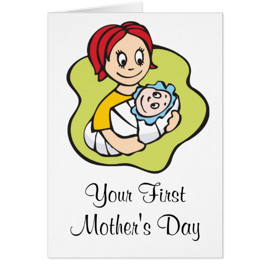 Your First Mother's Day Card