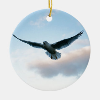 Your Free Just LIke Jonathan Livingston Round Ceramic Ornament