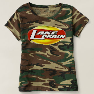 Your Gal Cain't Camo From You Lake Drain-T T-shirt