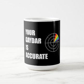 Your gaydar is accurate LGBT Pride Coffee Mug
