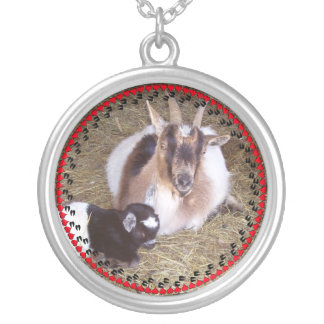 Your Goat's Photo Necklace