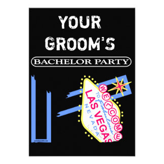 YOUR GROOM S BACHELOR PARTY ANNOUNCEMENT