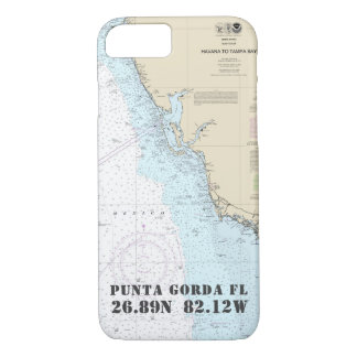 Your Gulf Coast City Latitude Longitude Nautical Case-Mate iPhone Case